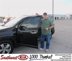 Thank You Southwest Kia and Ruddy and Crystal and Jennifer for all your help. You have a customer for life.     Regards  - gary chipman  Monday, March 04, 2013
