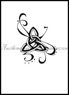 Celtic knot for strength