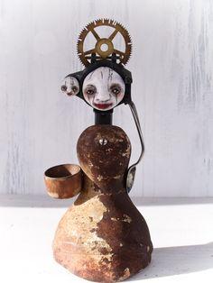 Original+Art+Doll+Assemblage++Sculpture++by+StephanieVandalART,+$115.00