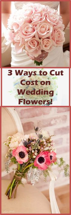 With all the things you'll have to worry about paying for when it comes to your wedding, you won't want to have to spend a lot of cash for slightly smaller things, like accents, decorations, and flower arrangements. Since most brides do want to have flowers at their weddings, and would prefer to purchase them at a reasonable price, here are some ways to save on wedding flowers that you may want to try...
