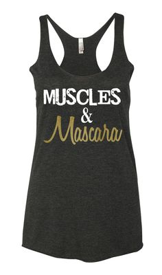 5a9781cbef3c6 Muscles  amp  Mascara tank top www.moxiefitnessapparel.com Workout Attire