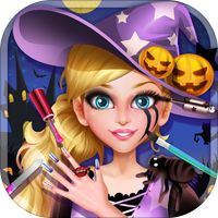 Halloween Makeover: Crazy Nail by ZHIHAO YAO