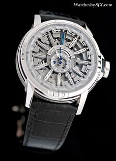 Watches by SJX: Hands-on with the Harry Winston Opus 12 by Emmanuel Bouchet - a complication with 27 hands and 607 parts (with live photos, ...