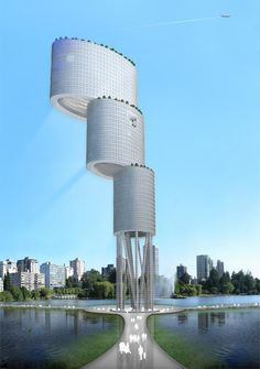 Vertical City, Venezuela by Desitecture
