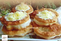 Receptek, és hasznos cikkek oldala: Joghurtos lángos Hungarian Cuisine, Hungarian Recipes, Ital Food, Bread Dough Recipe, Salty Snacks, French Toast, Bakery, Pizza, Food And Drink