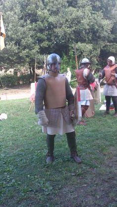 Volterra 2013,  rievocazione storica, fanteria comunale del XIII sec
