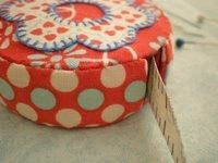 a spoonful of sugar tutorials - covered tape measure, passport protector, and wallet