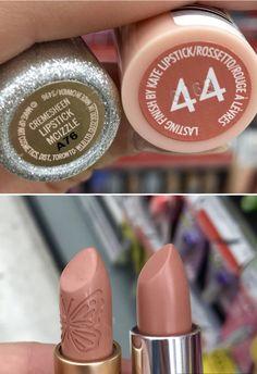 MAC Lipstick Dupe - Rimmel Kate Moss Lipstick No. 44 - MAC x Mariah Carey MCIZZLE