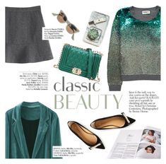 """""""Classic beauty"""" by punnky ❤ liked on Polyvore featuring Essentiel, Haute Hippie, Dsquared2 and Avenue"""