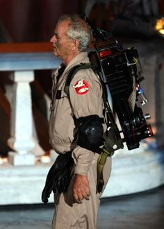 Who ya gonna call? Bill Murray in full Ghostbusters uniform at the Spike Scream Awards! Original Ghostbusters, The Real Ghostbusters, Ghostbusters Costume, Love Movie, Movie Tv, 80s Movies, Iconic Movies, Die Geisterjäger, 1980s