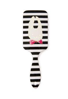 Bunny & Stripes Hair Brush | Forever 21 - $3.90