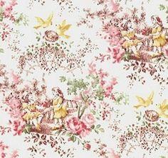 Beautiful toile fabric!