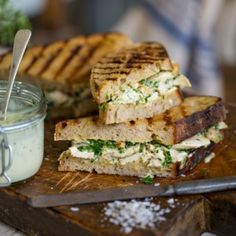 My favourite sandwich: a toasted herbed chicken mayo on sourdough bread (photography by Tasha Seccombe, styling by Nicola Pretorius)
