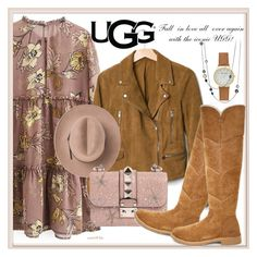 The New Classics With UGG: Contest Entry by nataschic on Polyvore featuring polyvore, fashion, style, Gap, UGG, Valentino, David Yurman, Marc, clothing and ugg