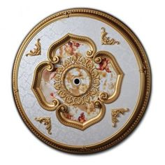 """CCMO-2009-RD (Michelangelo Ceiling Medallion) 43"""" buy it NOW at FineArtDecostore.com"""