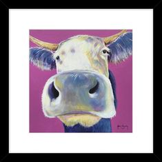 Some of the great artwork currently available. Cow, Moose Art, Buttercup, Artwork, Animals, Work Of Art, Animales, Auguste Rodin Artwork, Animaux
