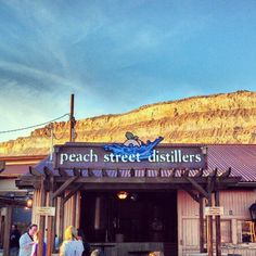 Peach Street Distillers in Palisade, #Colorado. #travel #VisitGrandJunction Learn more about this trip: http://www.heiditown.com/2013/04/03/a-delicious-two-day-grand-junction-palisade-itinerary/