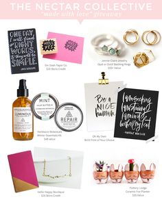 Happy Birthday to TNC! (+ Handmade Giveaway and Design Discount!) | The Nectar Collective