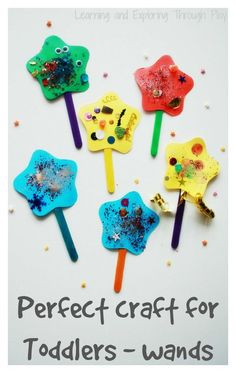 Toddler Wand Craft