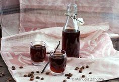Кофейно-ванильный ликер