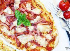 Pizza Zucchini-quattro formaggi & Pizza quattro salsiccia *Hummelsüß*