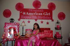 American Girl Party-Julianna already wants an AG party next year :)