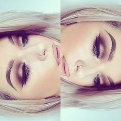 Her makeup is on point. I need a makeup trainer. Volunteers? #Sumz #AuNaturaleForDays
