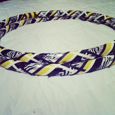 An Iowa Hawkeyes hula hoop!