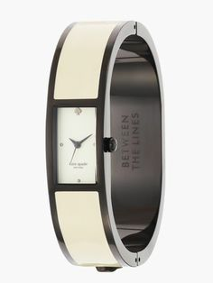 Absolutely love this watch—cream carousel bangle - kate spade new york