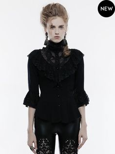 Punkrave Fans Gothic Punk Lolita Japan Victorian Pointy Spike Fan Nagel