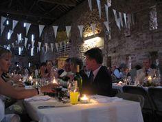 Main barn evening reception