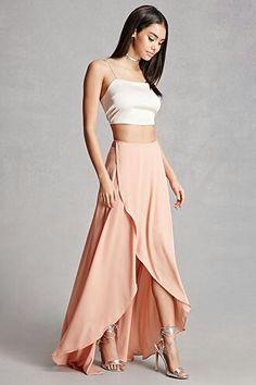 Selfie leslie maxi wrap dress...f21