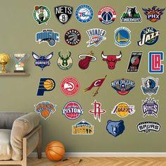 Fathead NBA 2015-2016 Logo Wall Decal Collection - 62-62366