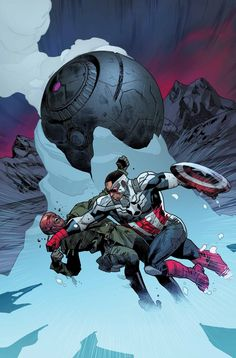 #Captain #America #Fan #Art. (All New Captain America Vol.1 #3 Cover) By: STUART IMMONEN. (THE * 5 * STÅR * ÅWARD * OF * MAJOR ÅWESOMENESS!!!™) [THANK U 4 PINNING!!<·><]