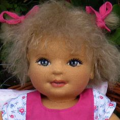 Cloth dolls Baby Leonie / www.jahneke.de 1 of 5