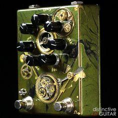 Custom Zvex Steampunk Fuzz Factory 7 at http://distincitveguitar.com/zvex/