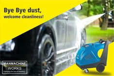 Using the Susette - 180/13, make your car cleaning an easy task. It guarantees you a step ahead for maintain the hygiene of car by bringing out ultimate cleanliness. For booking a susette- 180/13, reach us at 93-133-57889 and to know us better, you can visit us @ www.manmachineworks.com.  #Susette180/13, #HotAndColdWaterHighPressure, #CarWasher, #CarWashEquipment, #CarWasherEquipment, #PortableCarWasher, #AutomaticCarWasher, #CarWasherMachine, #CarWasherPump Portable Car Washer, Car Wash Equipment, Automatic Car Wash, Washer Machine, Washer Pump, Car Vacuum, Winter House, Car Cleaning, Things To Come