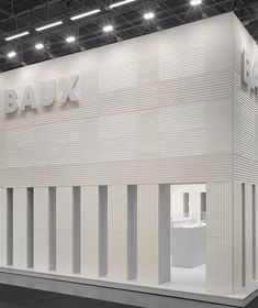 BAUX Acoustic Pulp 100% Bio-Based Panels Inspired by Origami, Cut by Laser - Design Milk