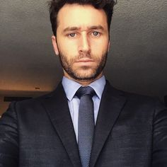 "James Deen on Instagram ~ ""Now I'm wearing a suit and standing in the light from this window... I'm thinking about bacon"""