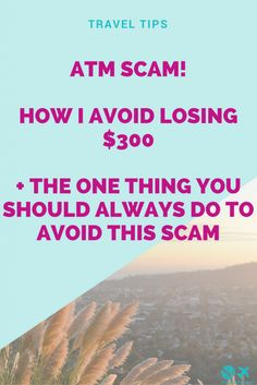 How I avoid losing $300 + the one thing you should always do #traveltips #travelhacks #packingtips #aroundtheworld #travelblogger #traveling #digitalnomad #bloggers #blogtips #entrepreneur #smallbusiness #online #tips #blogging #seo #2017 #newyear #smallbusinesstips #toread #longread