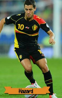 Eden Hazard of Belgium in action in 2015.