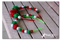 Christmas Wonderful: Holiday Headbands - Design Dazzle Christmas for you - Happy Christmas - Noel 2020 ideas-Happy New Year-Christmas Christmas Bows, Christmas Crafts For Kids, Holiday Crafts, Christmas Holidays, Christmas Headbands, Christmas Sweaters, Natal Diy, Christmas Accessories, Operation Christmas Child