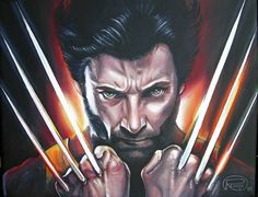Wolverine (X-Men) by Renata Cavanaugh on ARTwanted Wolverine, X Men, Tea Pots, Darth Vader, Deviantart, Theme Ideas, Illustration, Floral, Artwork