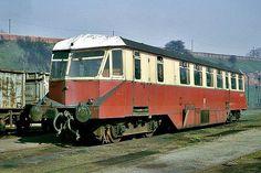GWR Railcar W20W at Worcester Works, 1965