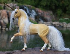 Custom OOAK Fantasy Horse or Unicorn Sculpture 4 by scenceable,