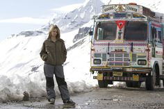 Lisa Kelly was the only one to make it through to the very end of the series when the truckers took on the Himalayas in IRT Deadliest Roads.