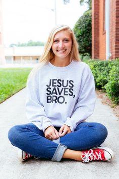 Jesus saves bro basic crew