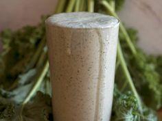 Blueberry Banana Almond Kale Smoothie