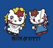 Chucky & Bride of Kitty Hello Kitty Cartoon, Hello Kitty Purse, Hello Kitty Art, Hello Kitty Characters, Hello Kitty Pictures, Kitty Images, Hello Kitty Halloween, Halloween Fun, Bad Cats