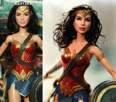 Artist Repaints Mass-Produced Dolls to Look Realistic http://geekxgirls.com/article.php?ID=9047